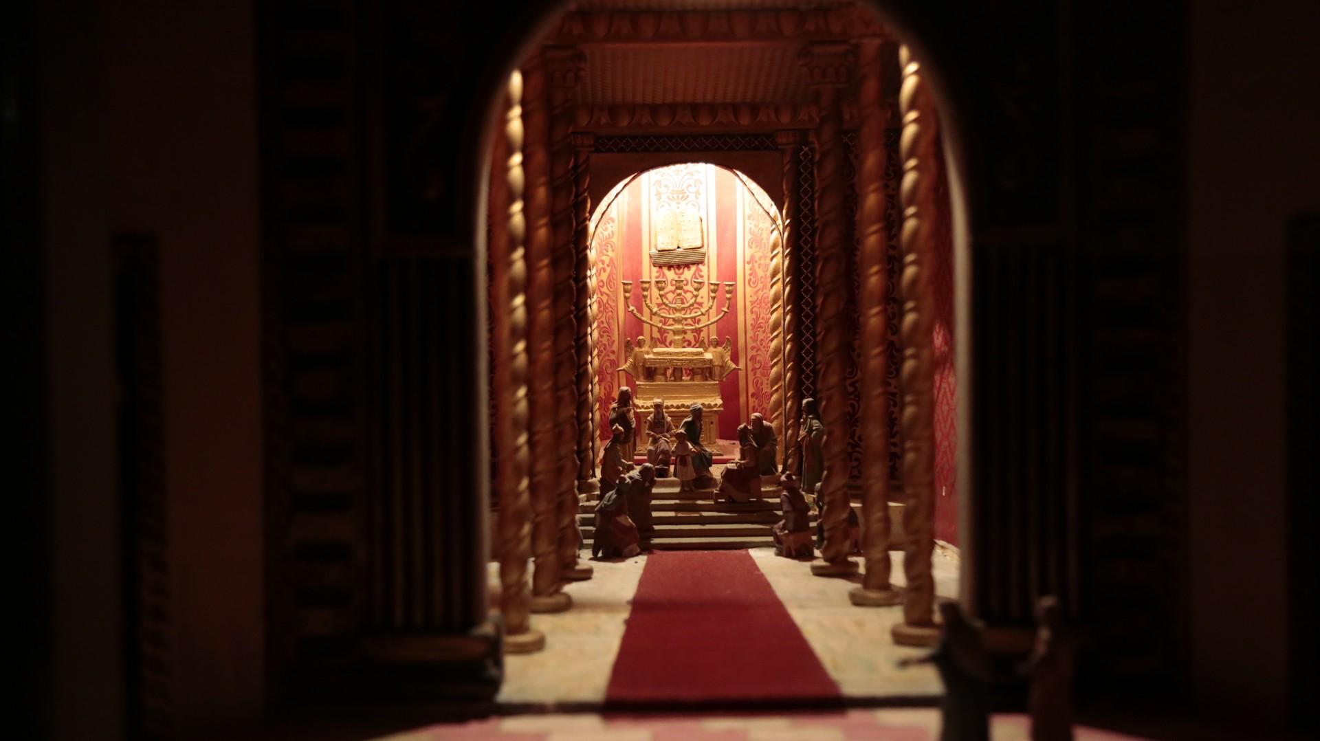 Presepe tempio
