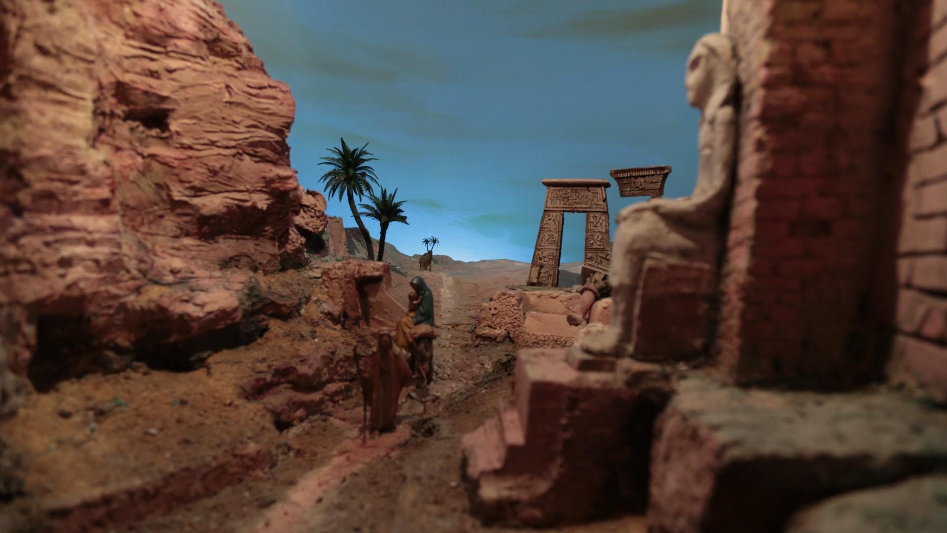 Presepe fuga Egitto