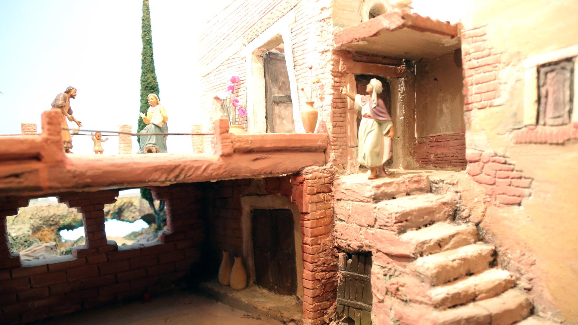 Presepe Poliscenico di Collevalenza: 17. La vita nascosta di Nazareth