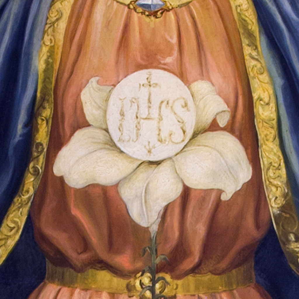 Santuario_AM_Quadro_Maria_Mediatrice_Giglio